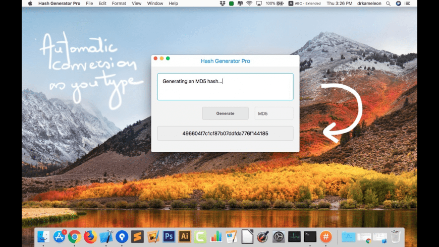 Hash Generator Pro for Mac - review, screenshots