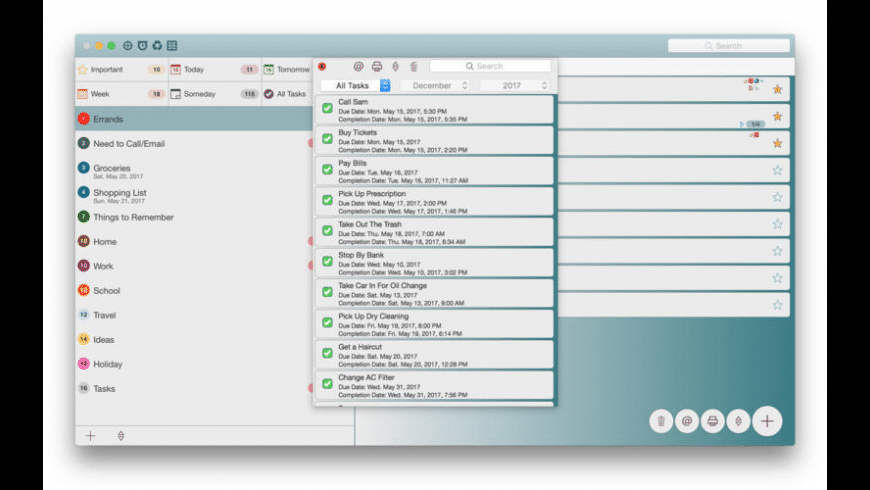 Listaway for Mac - review, screenshots