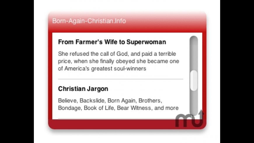 Christian News Widget for Mac - review, screenshots
