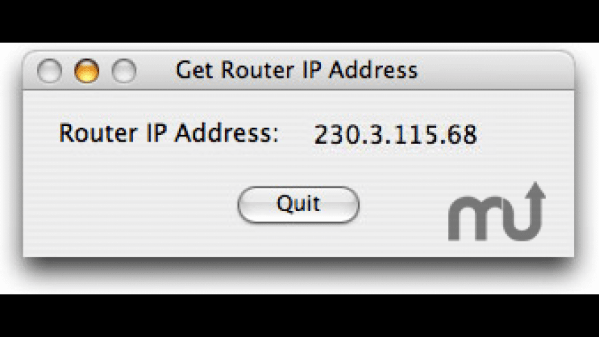 Router IP Address for Mac - review, screenshots