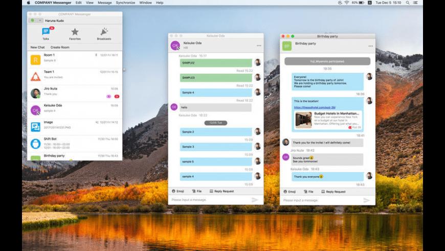LaKeel Messenger for Mac - review, screenshots