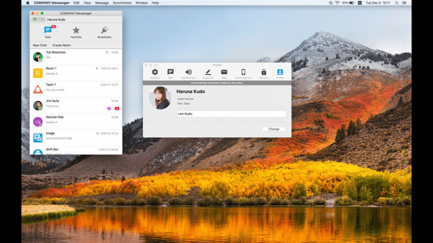 LaKeel Messenger for Mac - review, screenshots