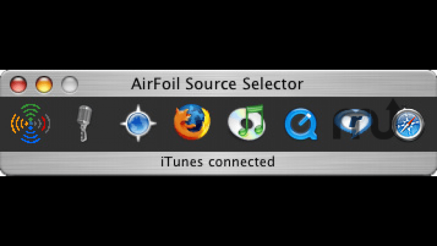 Airfoil Source Selector for Mac - review, screenshots