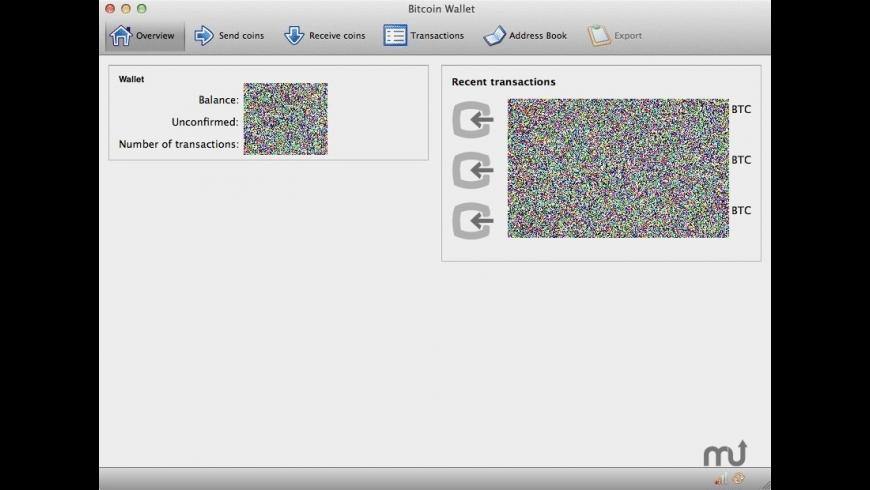 Bitcoin for Mac - review, screenshots