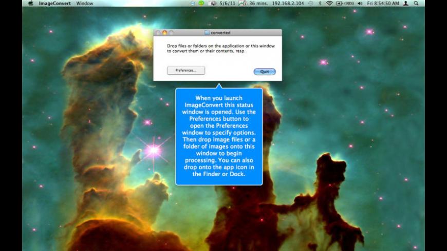 ImageConvert for Mac - review, screenshots