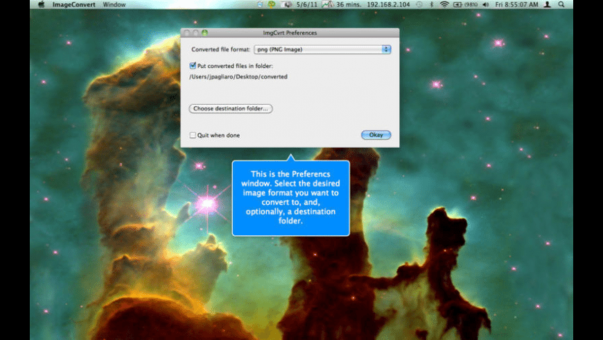 ImageConvert for Mac - review, screenshots