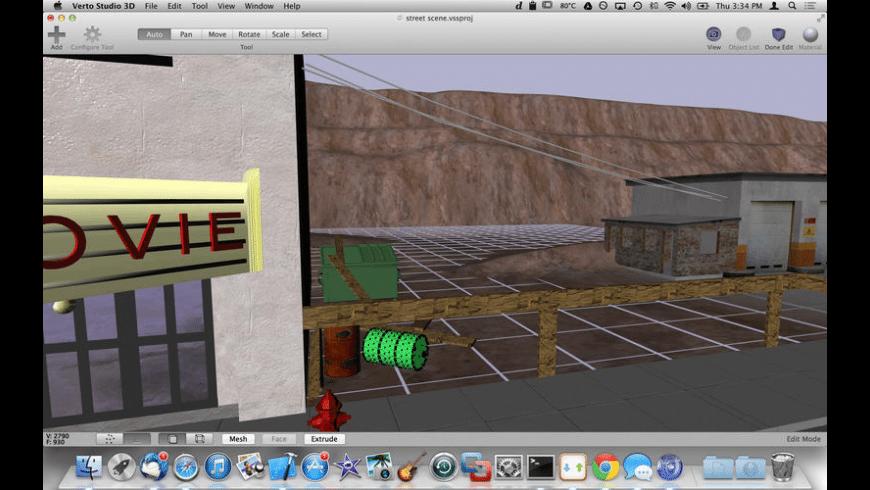 Verto Studio 3D for Mac - review, screenshots