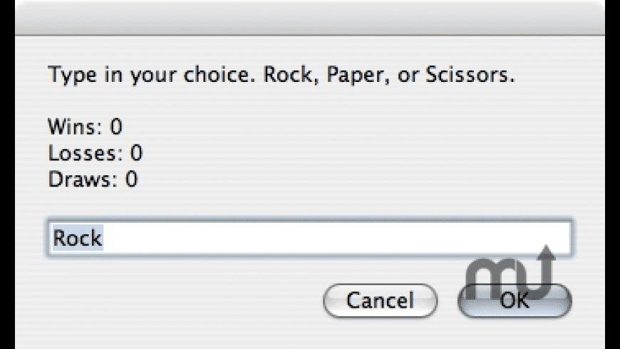Rock Paper Scissors! for Mac - review, screenshots