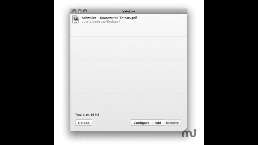 Safebay for Mac - review, screenshots