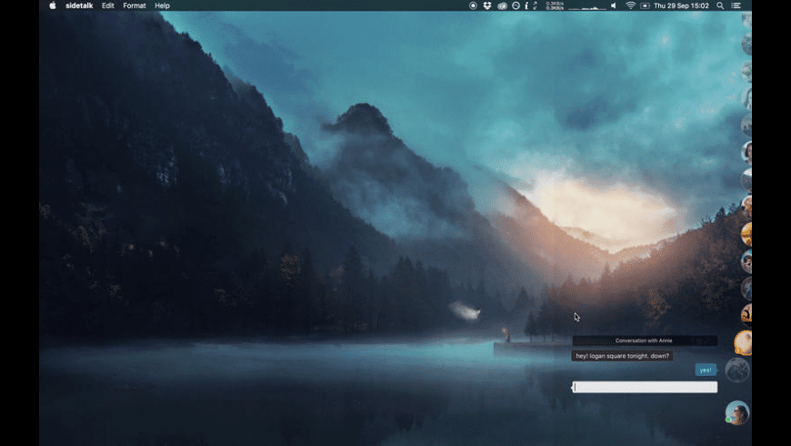 Sidetalk for Mac - review, screenshots