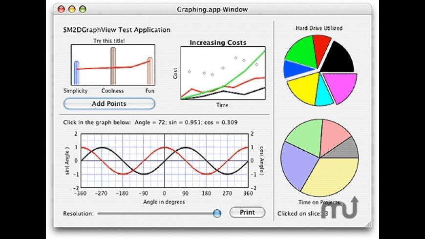 SM2DGraphView for Mac - review, screenshots