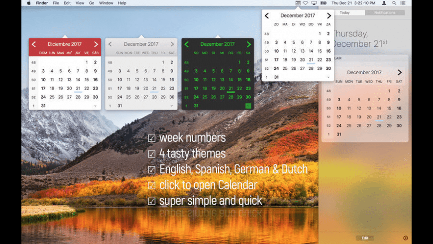 Calair for Mac - review, screenshots