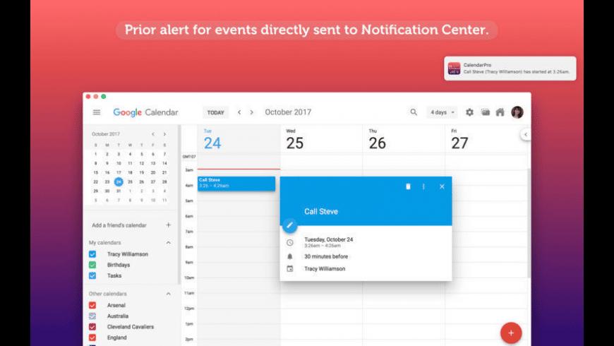 CalendarPro for Mac - review, screenshots