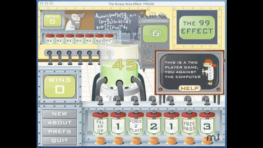 The 99 Effect for Mac - review, screenshots