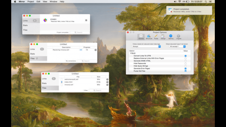 Miroir for Mac - review, screenshots