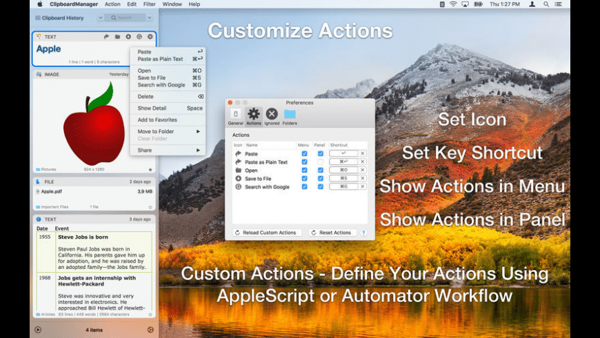 Clipboard Manager for Mac - review, screenshots