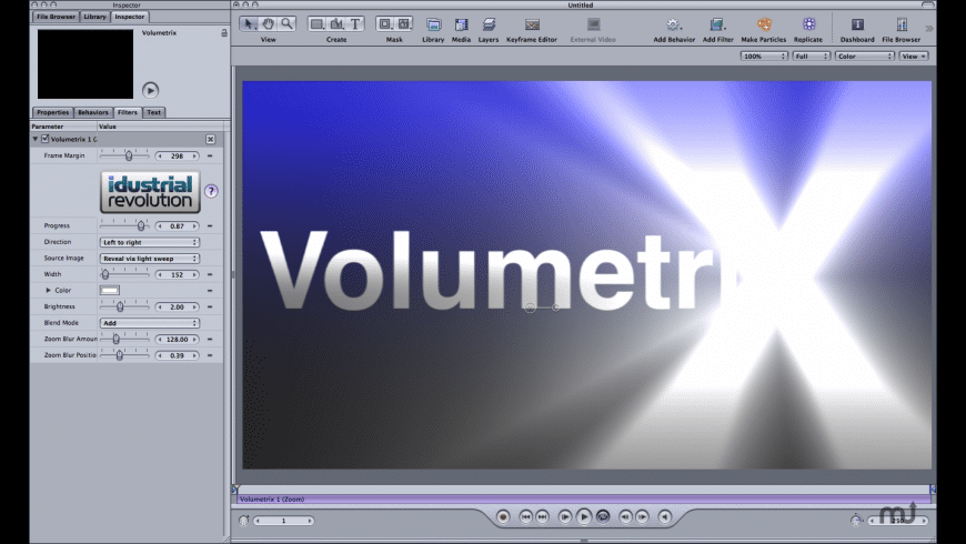 Volumetrix for Mac - review, screenshots