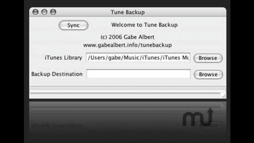 Tune Backup for Mac - review, screenshots