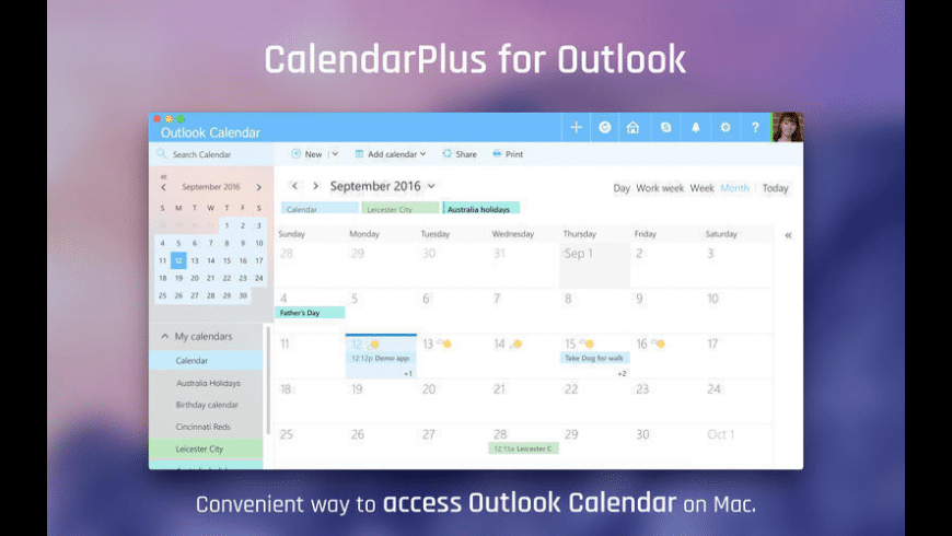 CalendarPlus for Outlook for Mac - review, screenshots