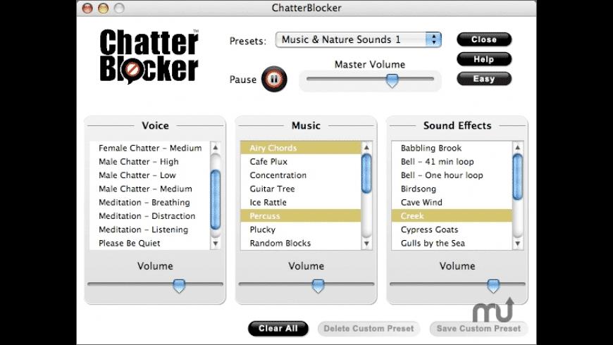 ChatterBlocker for Mac - review, screenshots