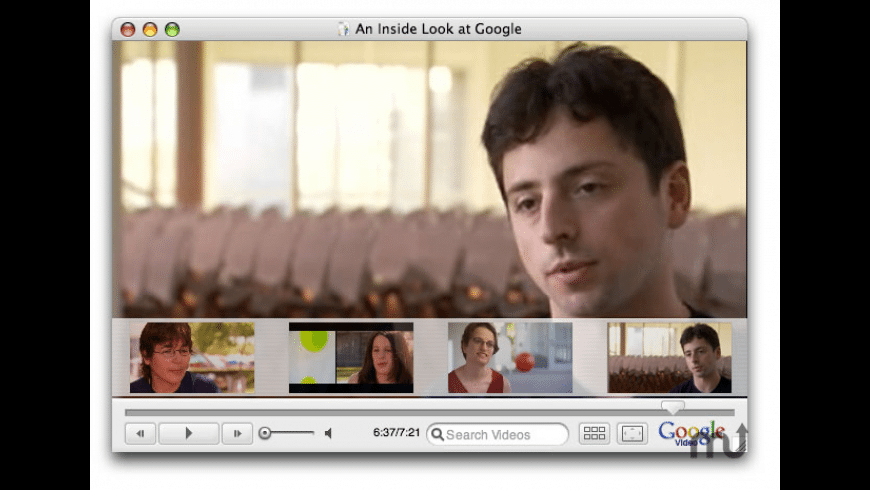 Google Video Player for Mac - review, screenshots