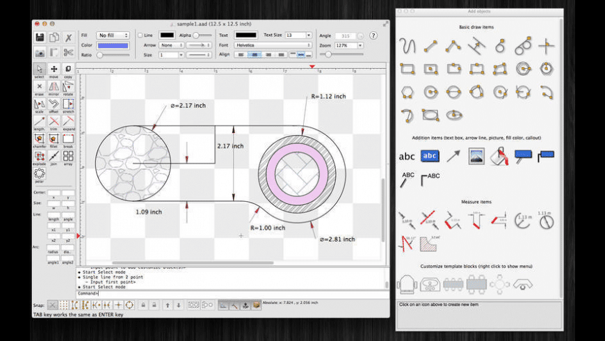 SimpleCAD for Mac - review, screenshots