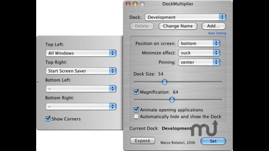 DockMultiplier for Mac - review, screenshots