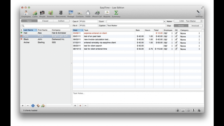EasyTime for Mac - review, screenshots