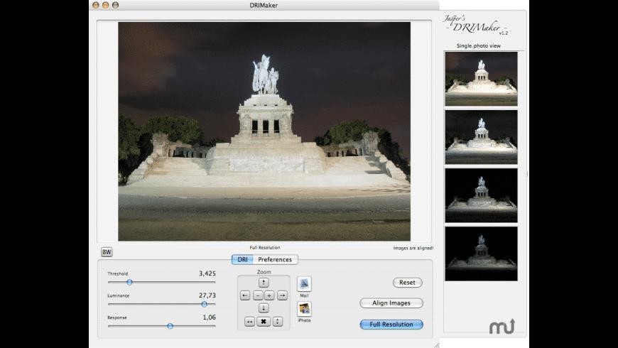 Jasper's DRIMaker for Mac - review, screenshots