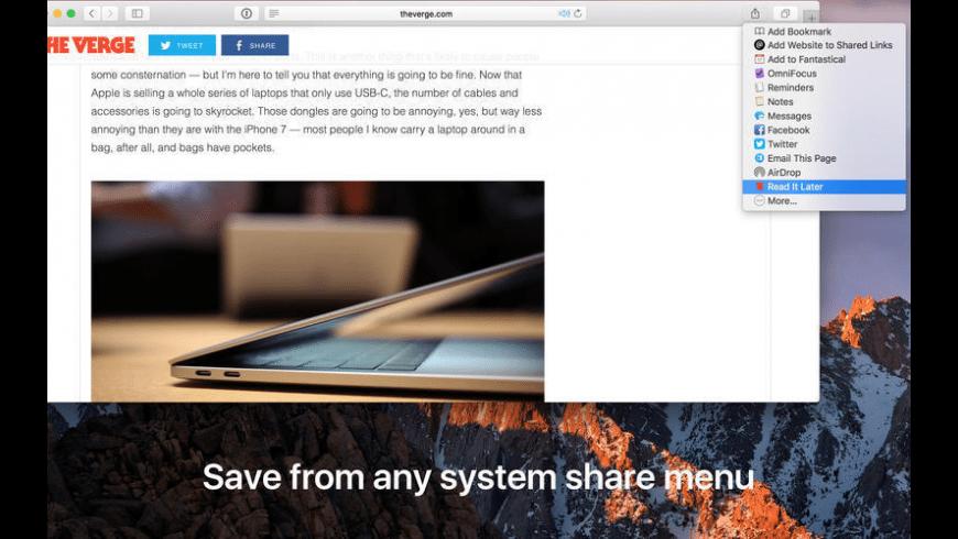 Later for Mac - review, screenshots