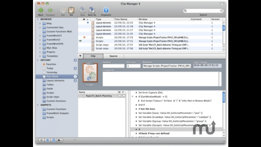 Clip Manager for Mac - review, screenshots