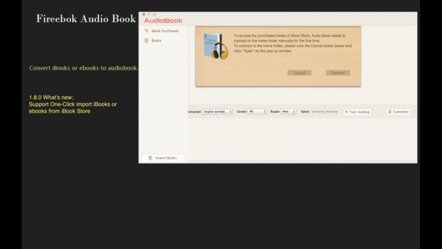 Audio Book for Mac - review, screenshots
