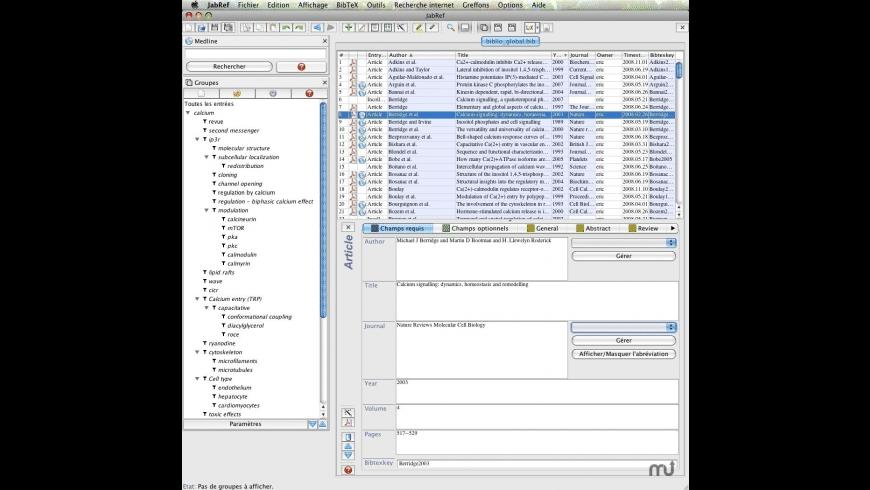 JabRef for Mac - review, screenshots
