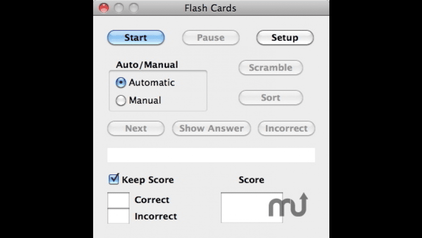 Flash Cards for Mac - review, screenshots