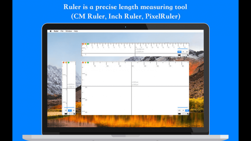 Ruler for Mac - review, screenshots