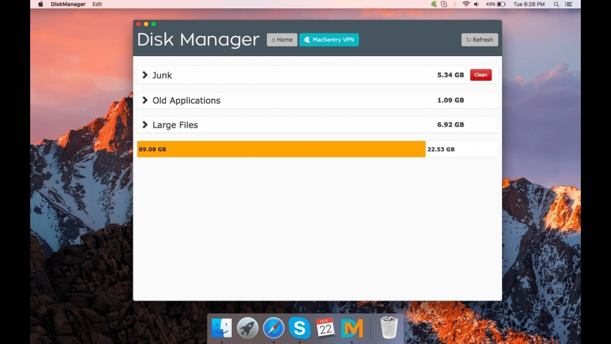 Disk Manager for Mac - review, screenshots
