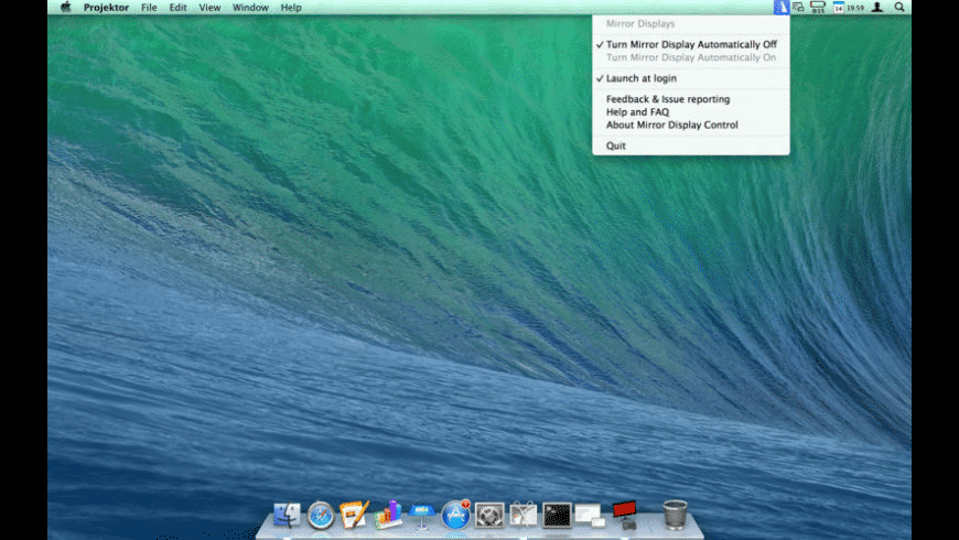 Mirror Display Control for Mac - review, screenshots