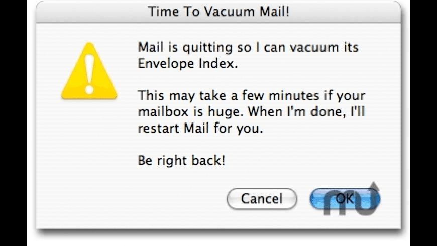 VacuumMail for Mac - review, screenshots