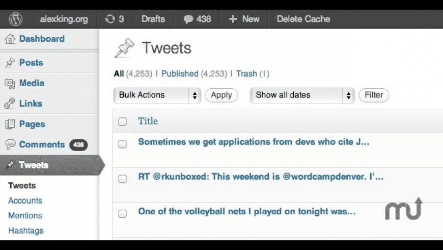 Twitter Tools for Mac - review, screenshots