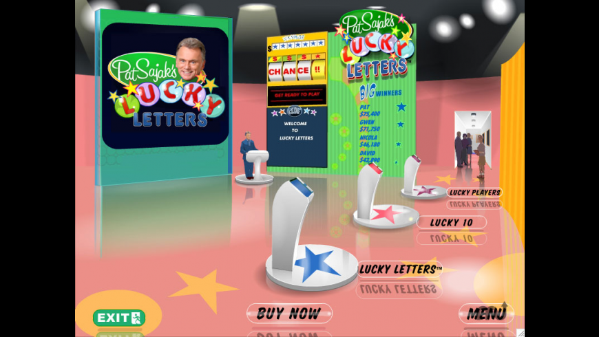 Pat Sajak's Lucky Letters for Mac - review, screenshots