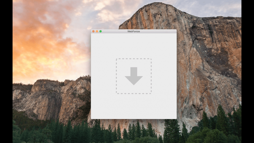 WebPonize for Mac - review, screenshots