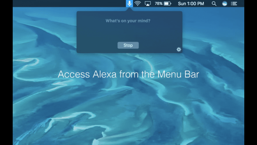 Speak for Amazon Alexa for Mac - review, screenshots