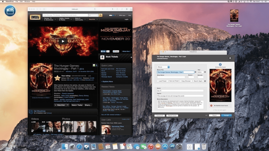 VideoDrive for Mac - review, screenshots