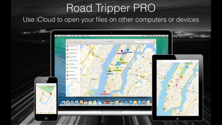 Road Tripper for Mac - review, screenshots
