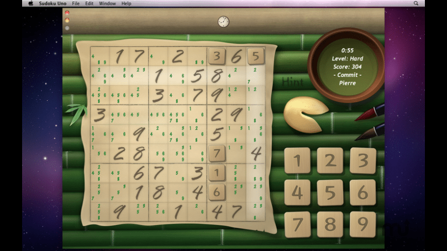 Sudoku Uno for Mac - review, screenshots