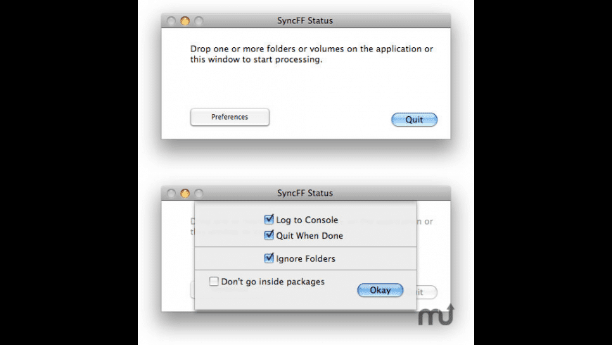 SyncFF for Mac - review, screenshots