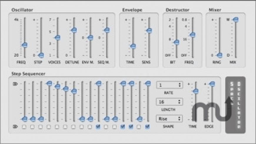 Space Oscillator for Mac - review, screenshots