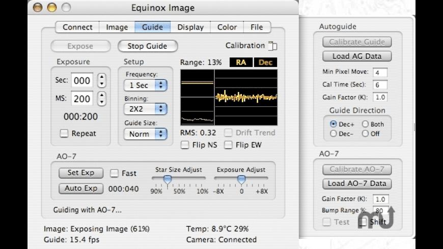 Equinox Image for Mac - review, screenshots