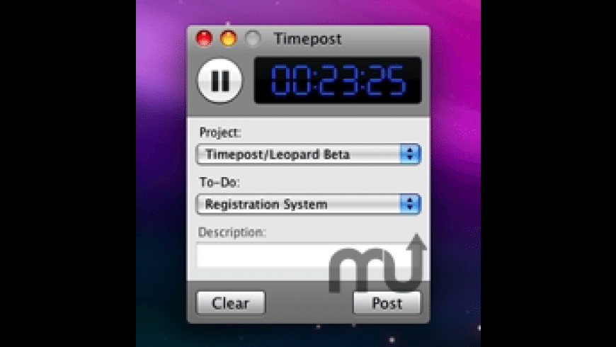 Timepost for Mac - review, screenshots