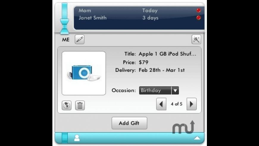 Gift-it! for Mac - review, screenshots